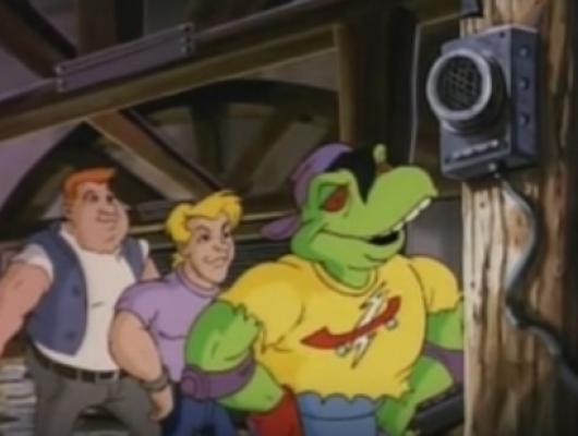 Donatello et le Gecko