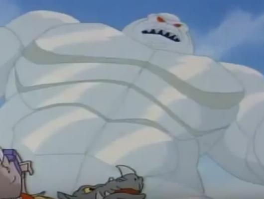 Le monstre des glaces