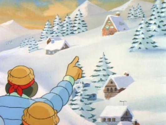 A real snow job
