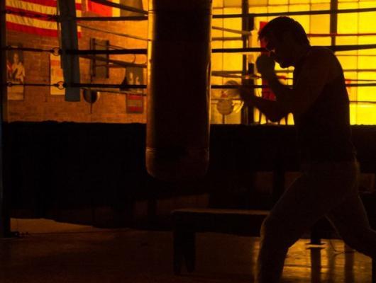 Sur le ring