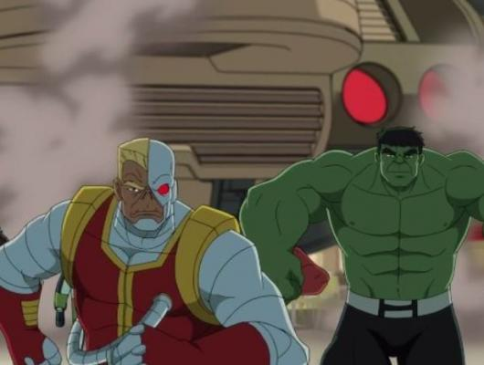 Cyborg contre Super Skrull