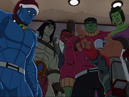 Joyeux Noël, Hulk
