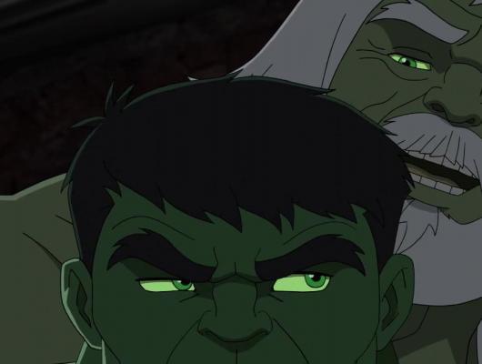 Hulk puissance deux