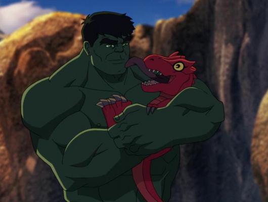 Hulk et la ceinture à voyager dans le temps : Le règne des dinosaures