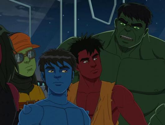 Hulk et la ceinture à voyager dans le temps : la nouvelle génération