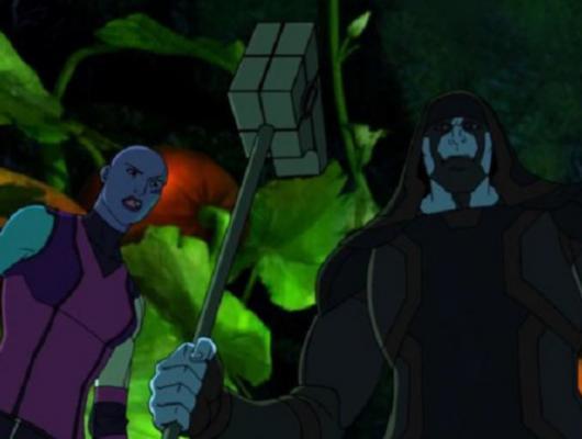 Les plantes maléfiques de Thanos