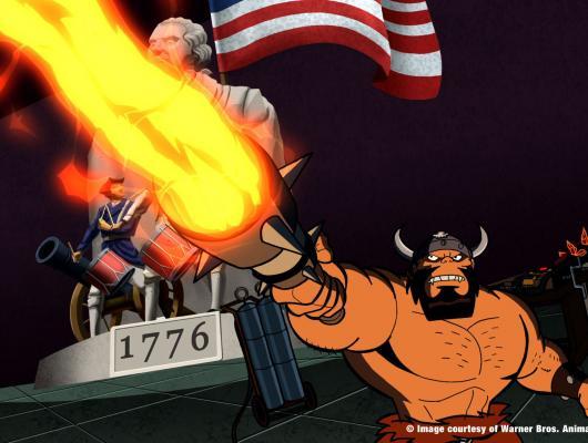 Menace of the Conquering Caveman !