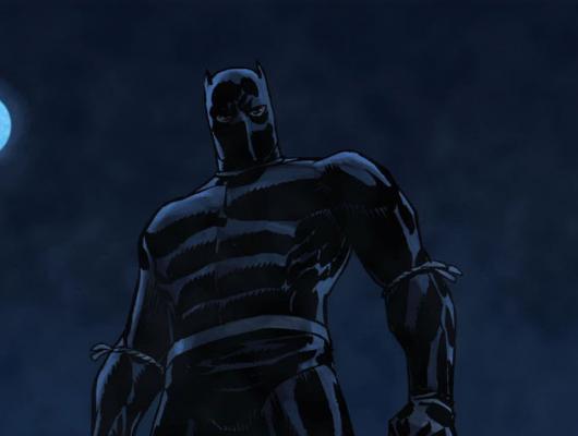 Black Panther vs. Juggernaut and Black Knigh