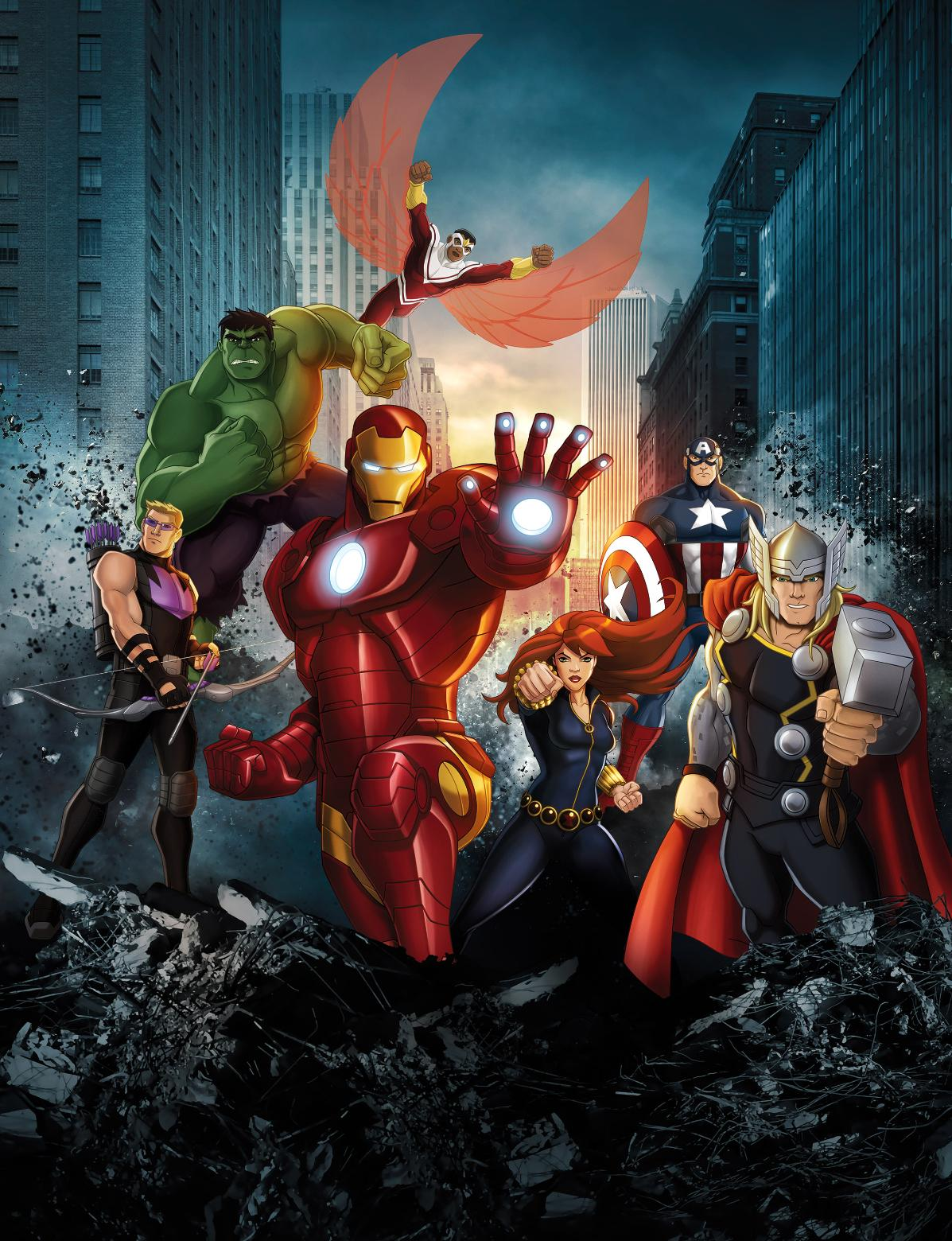 Avengers des changements pour l anime avengers assemble actualit 201