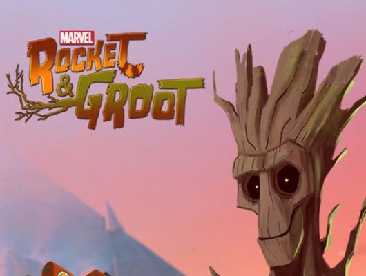 Rocket et Groot