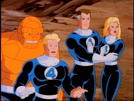 Les 4 Fantastiques : la série animée