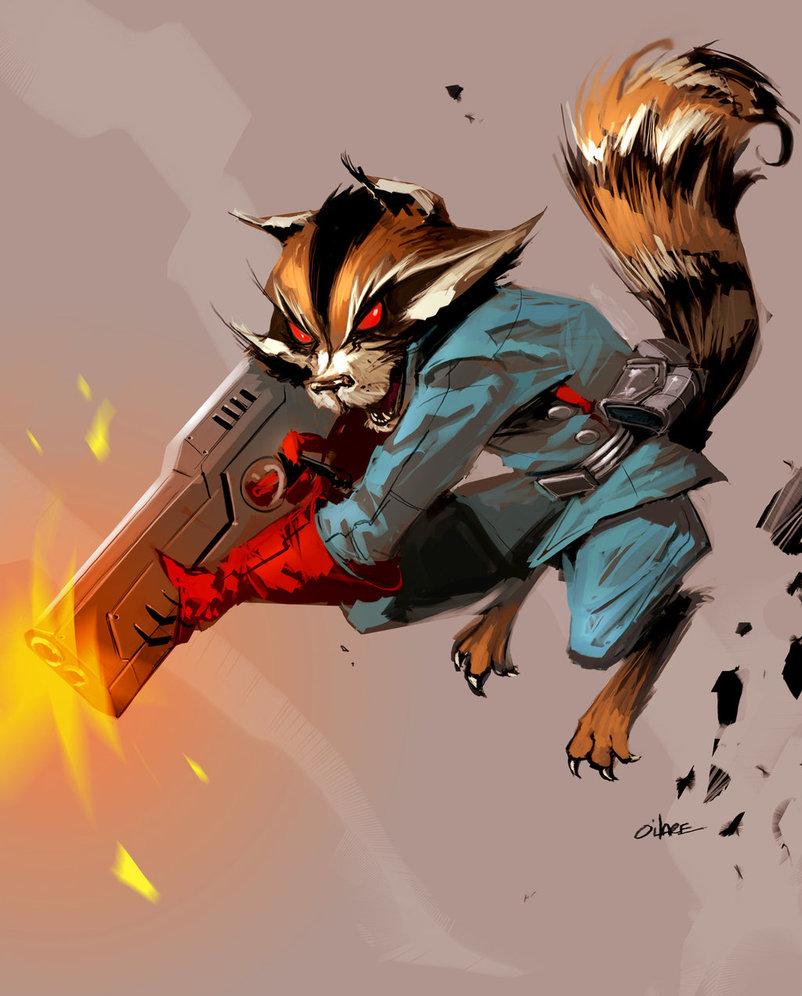 Rocket Raccoon | ENCYCLOPÉDIE | MDCU COMICS