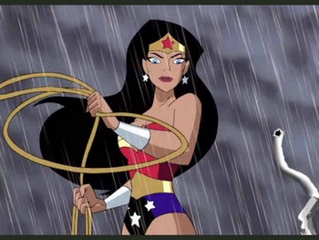 Dessin animé wonder woman