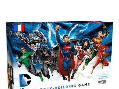 DC Comics Deck Building