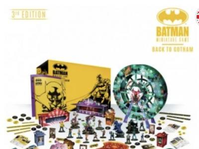 Batman Miniature Game: Back to Gotham Box Set