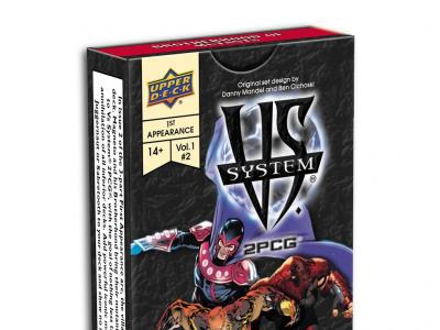Vs System 2PCG: The Marvel Battles Vol.1 #02 1st Appearance: Brotherhood of Mutants