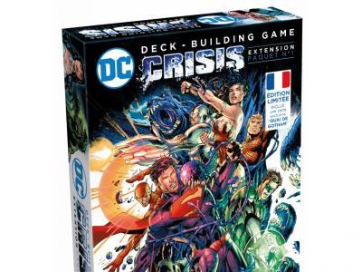 DC Comics Jeu de Deck Building Crisis Extension 1