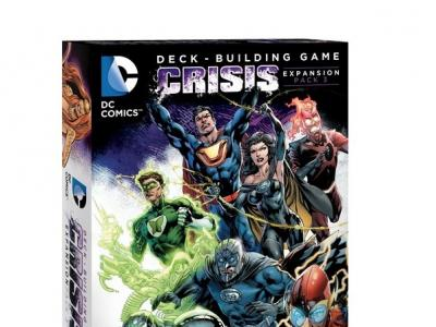 DC Comics Deck Building Crisis Extension 3