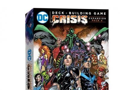 DC Comics Deck Building Crisis Extension 4