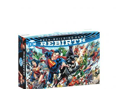 DC Comics Deck Building : Rebirth