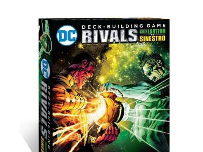 DC Comics Deck Building : Rivals - Green Lantern Vs Sinestro