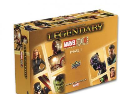 Legendary - Marvel Studios Phase 1