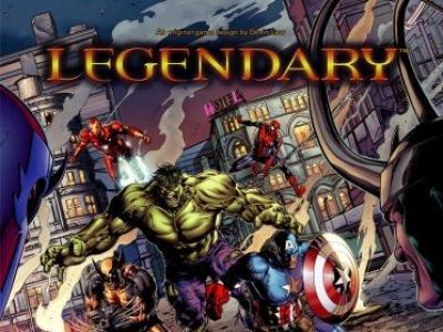 Legendary : Marvel Deck Building