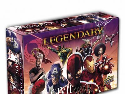 Legendary: Marvel Deck Building - Civil War Expansion