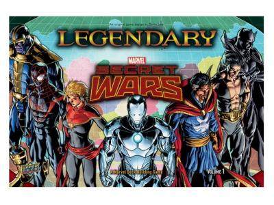 Legendary: Marvel Deck Building - Secret Wars Volume 1 Expansion