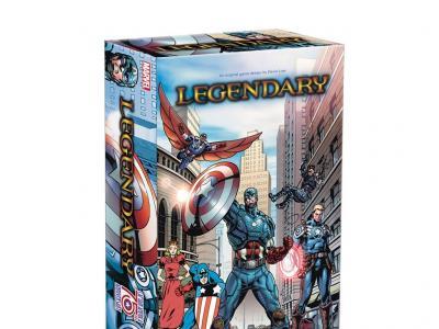Legendary: Marvel Deck Building - Captain America 75th Anniversary Expansion