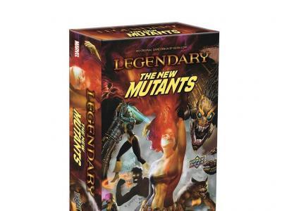 Legendary: Marvel Deck Building - New Mutants Expansion