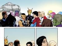 Premier aperçu de Legion of Super-Heroes de Bendis & Sook