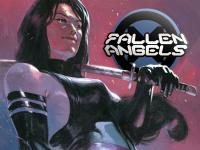 Une dizaine de couvertures pour Fallen Angels